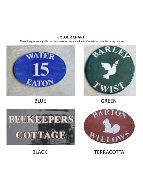 Ceramic House Plaques